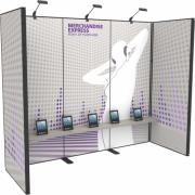 10FT Merchandise Express Modular Back Wall Kit 06