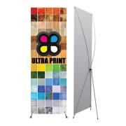 Premium X Banner Stand (Small) Graphic Package