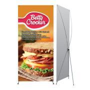 Premium X Banner Stand (Medium) Graphic Package