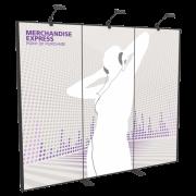 10FT Merchandise Express Modular Back Wall Kit 01