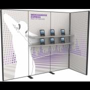 10FT Merchandise Express Modular Back Wall Kit 05