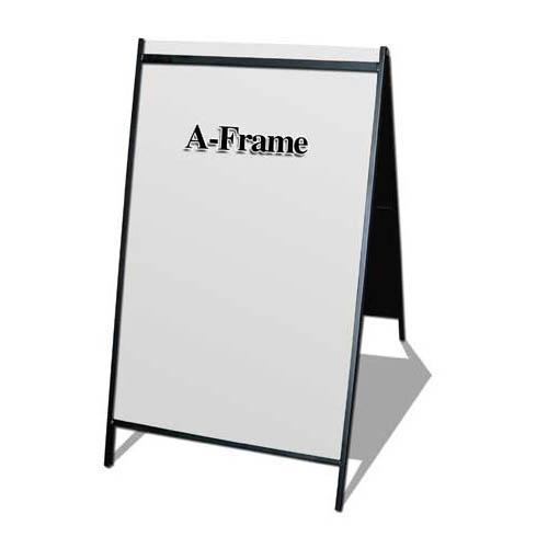 beb439bcc295 2 side A Frame Steel Sign (32